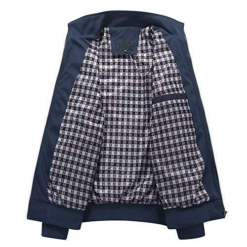 Mens Summer Bomber Jackets Casual Lightweight Windbreaker Sports Jacket Cargo Outwear 6