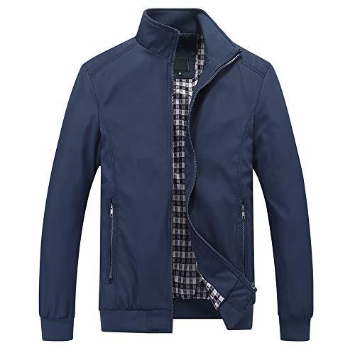 Mens Summer Bomber Jackets Casual Lightweight Windbreaker Sports Jacket Cargo Outwear 1