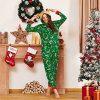 Yaffi Family Matching Pyjamas Christmas Festival Onesie One Piece Xmas Deer Snowman Printed Hooded Jumpsuit Sleepwear… 10