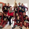 Yaffi Family Matching Pyjamas Set Festival Two Pieces Outfits Merry Christmas Elk Printed Top with Plaid Pants… 13