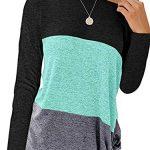 iChunhua Womens Cute Long Sleeve T Shirt Casual Blouse Tops Crewneck Sweatshirt 12