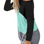iChunhua Womens Cute Long Sleeve T Shirt Casual Blouse Tops Crewneck Sweatshirt 13