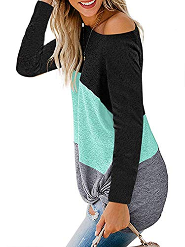 iChunhua Womens Cute Long Sleeve T Shirt Casual Blouse Tops Crewneck Sweatshirt 4