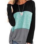 iChunhua Womens Cute Long Sleeve T Shirt Casual Blouse Tops Crewneck Sweatshirt 11