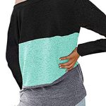 iChunhua Womens Cute Long Sleeve T Shirt Casual Blouse Tops Crewneck Sweatshirt 14