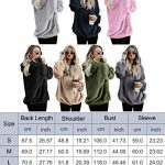 iWoo Teddy Fleece Sweatshirts Womens Casual Double Fuzzy Fluffy Hoodie Solid Color Warm Stylish 1/4 Zip Pullover with… 23