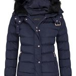 shelikes Womens Jacket Quilted Winter Padded Coat 14