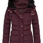 shelikes Womens Jacket Quilted Winter Padded Coat 12