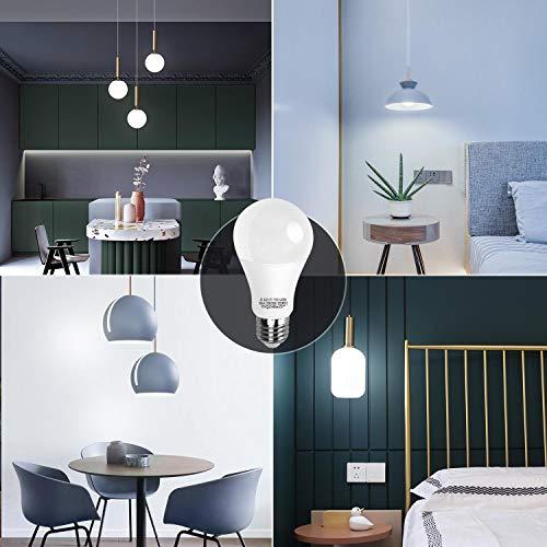 LED E27 Edison Screw Bulbs, Aigostar 15W A60 E27 Light Bulb, E27 Led Bulb Warm White 3000K Energy Saving Light Bulbs… 6