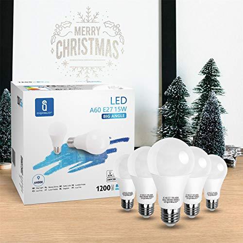 LED E27 Edison Screw Bulbs, Aigostar 15W A60 E27 Light Bulb, E27 Led Bulb Warm White 3000K Energy Saving Light Bulbs… 9