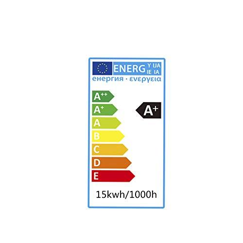 LED E27 Edison Screw Bulbs, Aigostar 15W A60 E27 Light Bulb, E27 Led Bulb Warm White 3000K Energy Saving Light Bulbs… 10