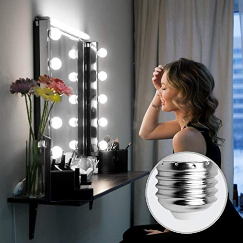 7W E27 Golf Ball Bulb, Aigostar G45 LED Lights Bulbs, 6400K Cool White Edison Screw Bulb 45W Incandescent Bulb… 3