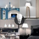 7W E27 Golf Ball Bulb, Aigostar G45 LED Lights Bulbs, 6400K Cool White Edison Screw Bulb 45W Incandescent Bulb… 22