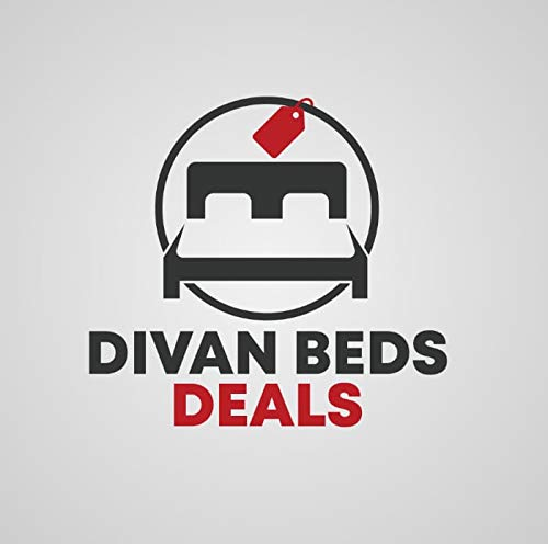 """4FT Small Double Grey Linen Look Divan Bed with Mattress 10"""", Plain Matching Colour Headboard 20"""" and 2 free Storage drawers (4FT small double, grey linen look) 7"""