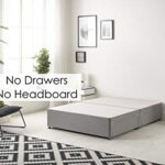 Bed Centre Tweed Gray Flexby Divan Bed Base - Headboard And Storage Drawer (Single, Small Double, Double, King and Super… 8