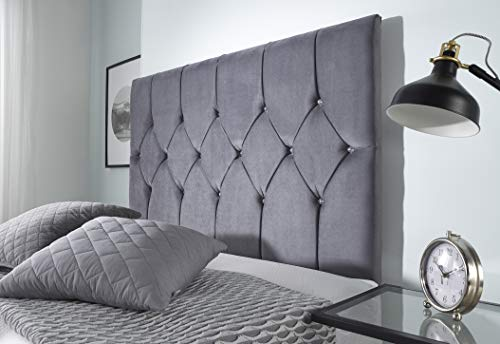 Bed Centre Ziggy Grey Plush Sprung Memory Foam Divan Bed Set With Mattress, 2 Drawers (Bottom Base) And Headboard (Small… 4