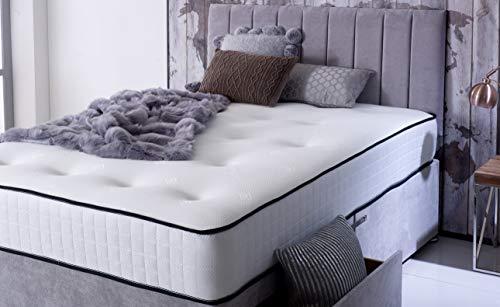 Comfort Night Sleep's Bravo Divan Bed and Mattress Set with Free Headboard   2 Drawer same side   (3FT Single) 3