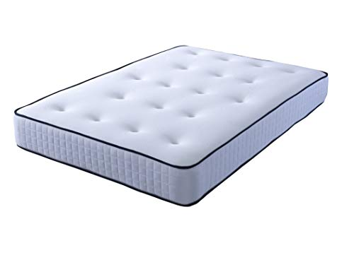 Comfort Night Sleep's Bravo Divan Bed and Mattress Set with Free Headboard   2 Drawer same side   (3FT Single) 4