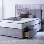 Comfort Night Sleep's Bravo Divan Bed and Mattress Set with Free Headboard   2 Drawer same side   (3FT Single) 13