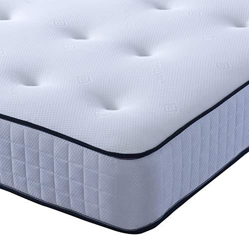 Comfort Night Sleep's Bravo Divan Bed and Mattress Set with Free Headboard   2 Drawer same side   (3FT Single) 5