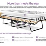 JAY-BE Jubilee Folding Bed with Rebound e-Fibre Mattress, Compact, Single 16
