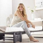 JAY-BE Revolution Folding Bed with Micro e-Pocket Mattress, Compact, Single 17