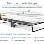 JAY-BE Revolution Folding Bed with Micro e-Pocket Mattress, Compact, Single 19