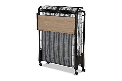 JAY-BE Revolution Folding Bed with Rebound e-Fibre Mattress, Compact, Single 3