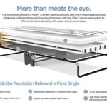 JAY-BE Revolution Folding Bed with Rebound e-Fibre Mattress, Compact, Single 25