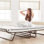 JAY-BE Supreme Folding Bed with Rebound e-Fibre Mattress and Automatic Folding Legs, Compact, Small Double 17