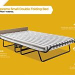 JAY-BE Supreme Folding Bed with Rebound e-Fibre Mattress and Automatic Folding Legs, Compact, Small Double 20