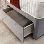 Sleep Factory's Grey Pearl 2 Drawer Divan Bed Set, Mattress and Headboard (2.6FT (Small Single)) 15