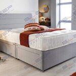Sleep Factory's Grey Pearl 2 Drawer Divan Bed Set, Mattress and Headboard (2.6FT (Small Single)) 13