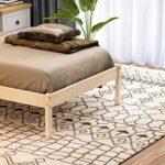 Vida Designs Milan Single Bed, 3ft, Bed Frame, Solid Pine Wood, Headboard, Low Foot End, Bedroom Furniture, Pine 19