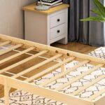 Vida Designs Milan Single Bed, 3ft, Bed Frame, Solid Pine Wood, Headboard, Low Foot End, Bedroom Furniture, Pine 21