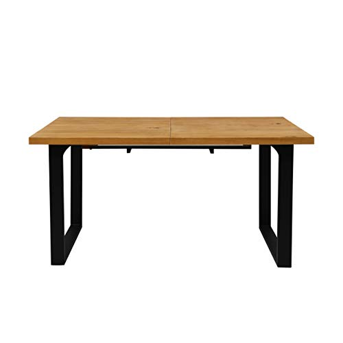 Cherry Tree Furniture 6-8 Seater Oak Extending Dining Table