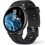 AGPTEK 1.3'' Full Touch Smart Watch-Black and Rose Gold 19
