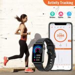 CatShin fitness watch for women, 1.57 inch fitness tracker with heart rate, pedometer, sleep monitor, music control, IP68 waterproof sports watch, stopwatch for women and men, for iOS and Android 21