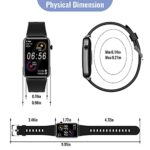 CatShin fitness watch for women, 1.57 inch fitness tracker with heart rate, pedometer, sleep monitor, music control, IP68 waterproof sports watch, stopwatch for women and men, for iOS and Android 26