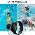 Smart Watch, AKWLOVY GPS Integrated Fitness Tracker Watch, IP68 Waterproof Heart Rate Monitoring Activity Tracking Sport Smartwatch for Ladies Men Women for Iphone Android IOS with Phone Notifications 20